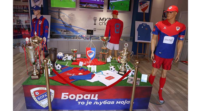 Отворена изложба ФК Борац