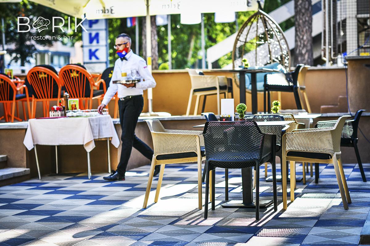 Отворена нова башта Ресторана Борик
